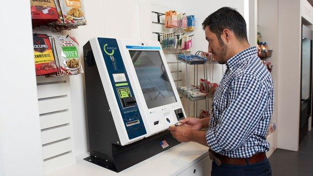 micro market kiosk optconnect