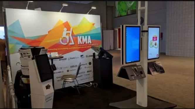 NRF 2020 Kiosk Tradeshow