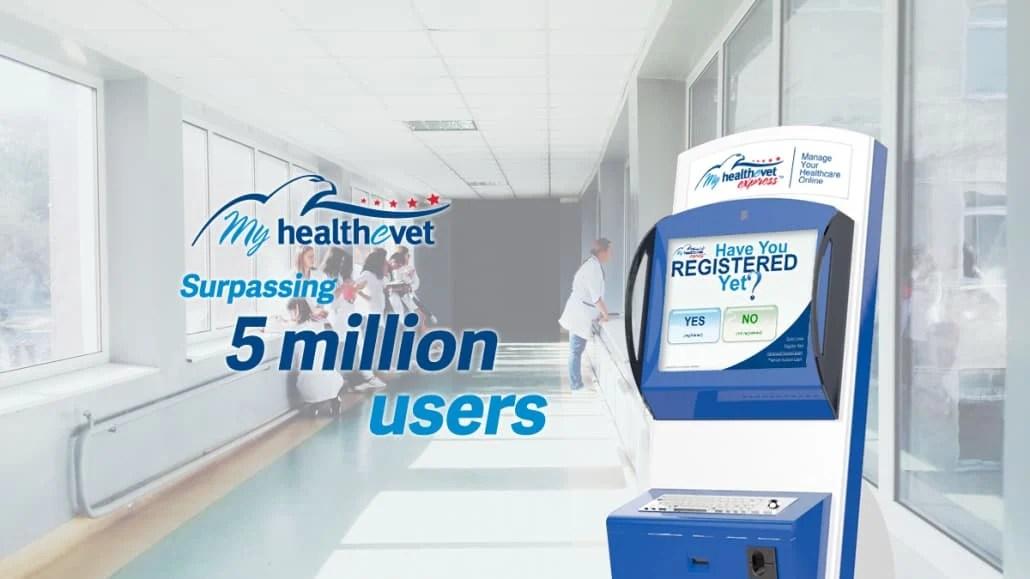 MyHealtheVet Kiosks Milestone for VA Patient Portal