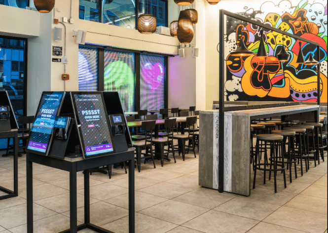 Taco Bell Cantina Kiosk