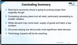 ihl concluding summary