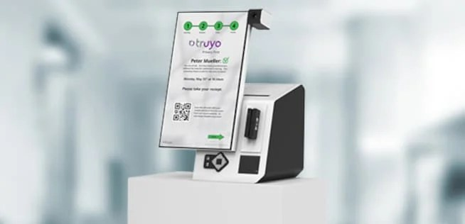temperature kiosk janus by Pyramid