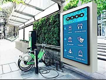 peerless outdoor digital signage