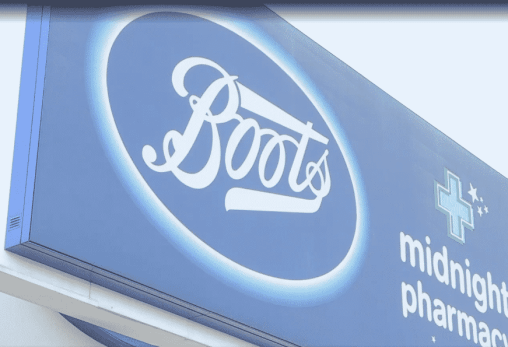 boots recycling kiosk