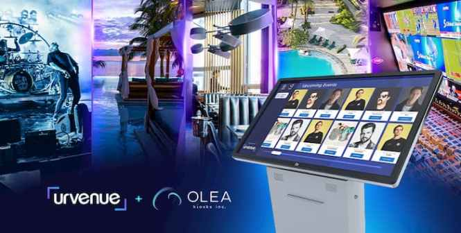 hospitality self-service kiosk solution by Olea