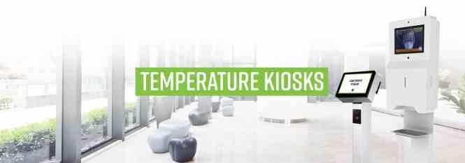 Temperature Kiosks by Frank Mayer