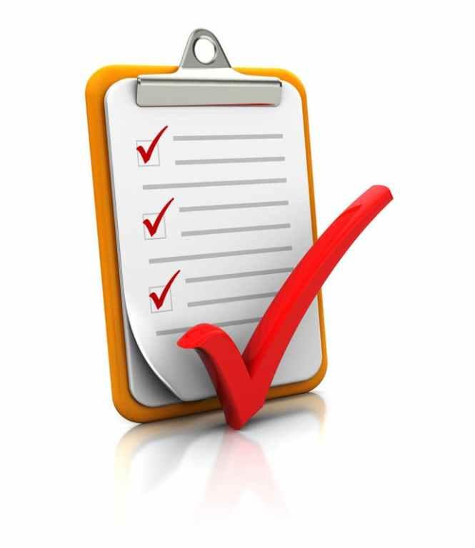 ADA Kiosk Checklist