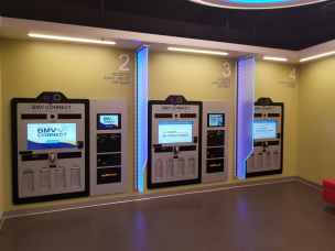 Payment kiosks BMV