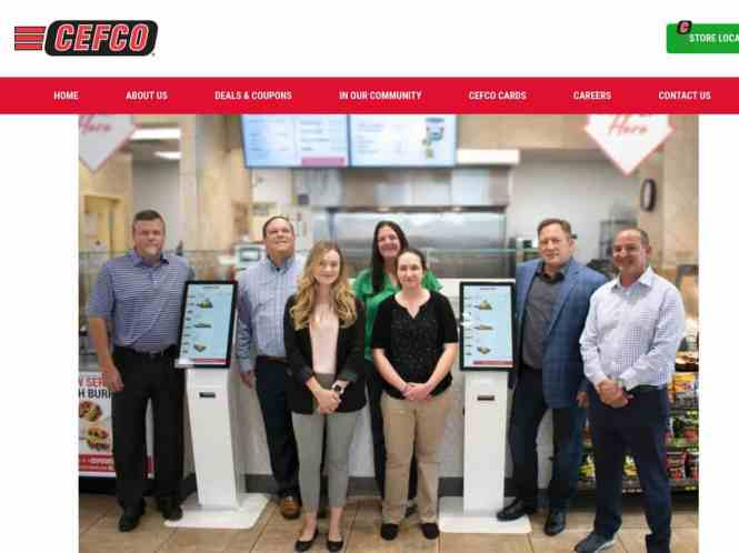 CEFCO C-Store Kiosk