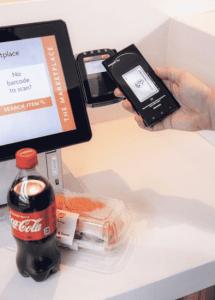 Touchless kiosk transaction