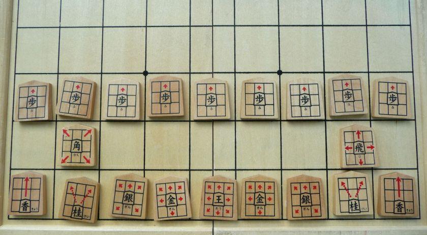 movimientos de fichas en shogi