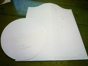 試作の型紙1号
