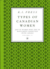 Cover of Types of Canadian Women
