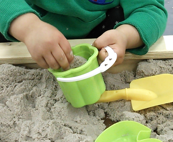 ふしぎな砂