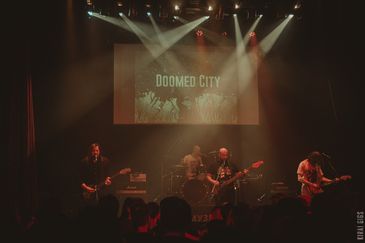 Doomed City – Live at Monteray, Kyiv [25.01.2020] Winter Mass VII (9 videos)