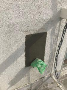 徳島県,外壁,モルタル部分補修写真