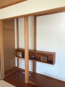 徳島県,クロス張り替え写真2