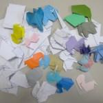 今回の実験のために若手が創作した折り紙作品