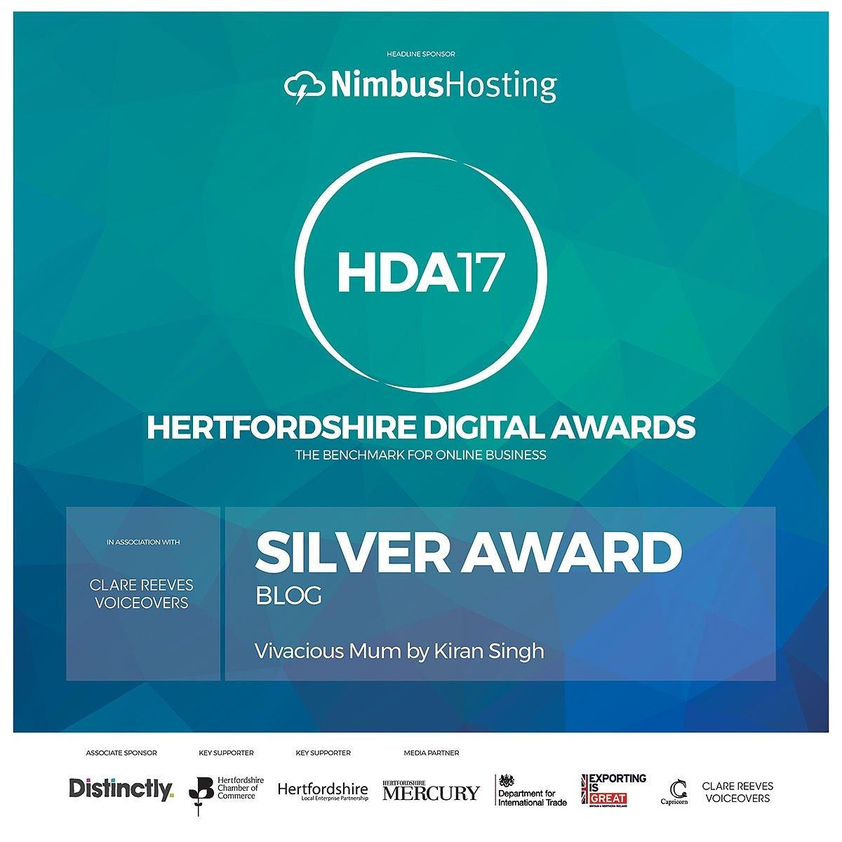 Kiran Singh - Hertfordshire Digital Awards