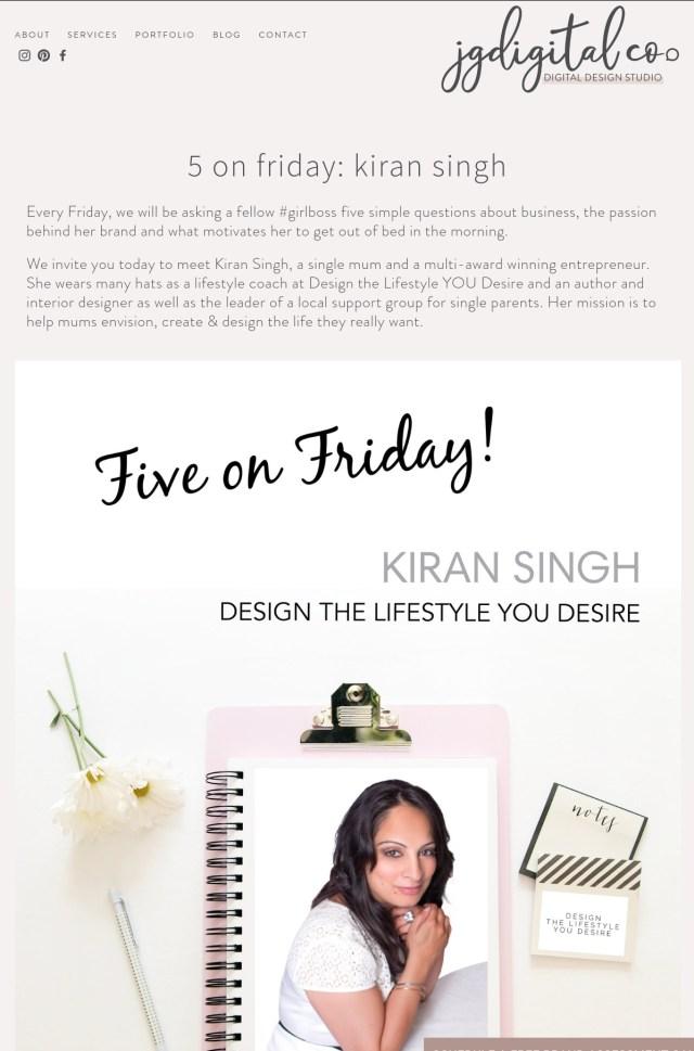 Kiran Singh - JG Digital