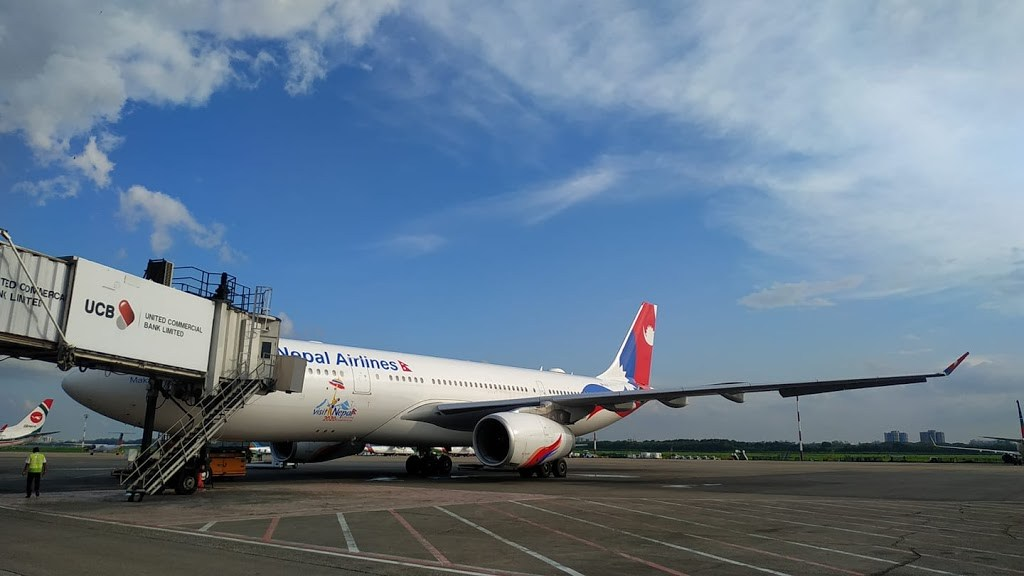 Airbus A330 of Nepal Airlines