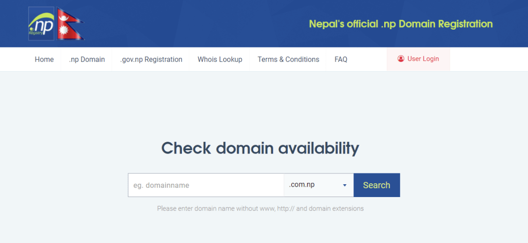 register.com.np for free domain Name
