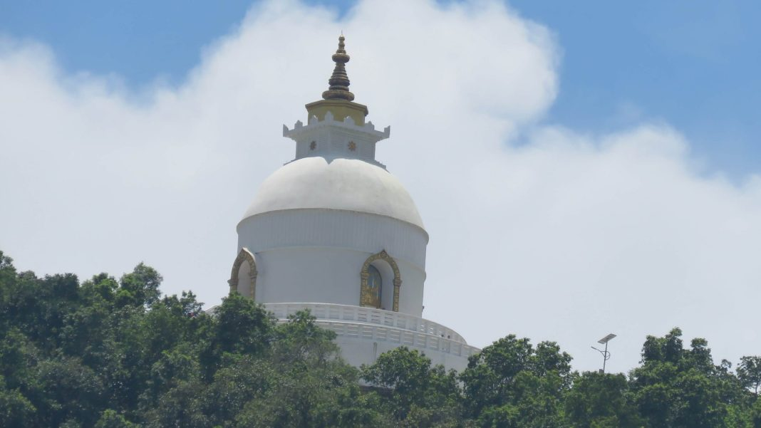 The World Peace Stupa (Best Places to Visit in the Pokhara Nepal)