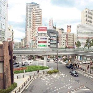 JR川口駅前