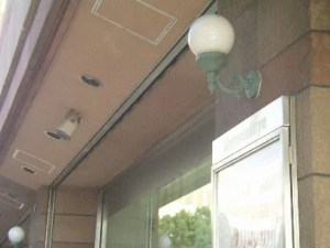 """※""""松坂屋""""北壁スピーカー"""