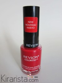 REVLON colorstay #120 Red Carpet  swatch, review ...