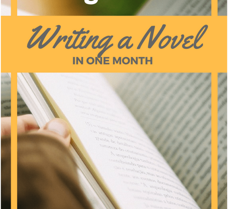10 Things I Learned Writing a Novel in 30 Days