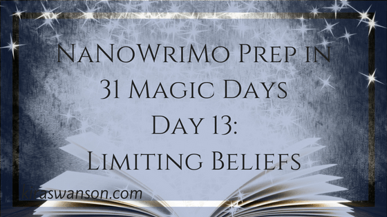 Day 13: 31 Magic Days of NaNoWriMo Prep