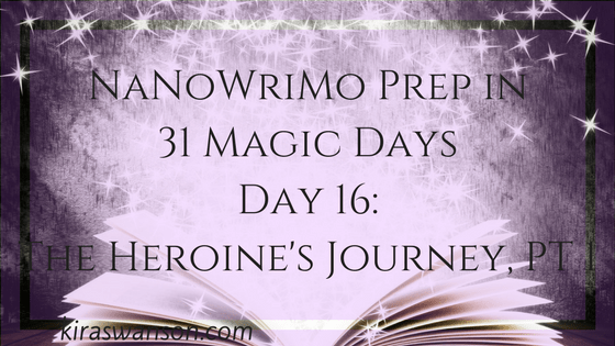 Day 16: 31 Magic Days of NaNoWriMo Prep