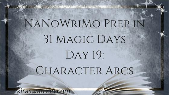 Day 19: 31 Magic Days of NaNoWriMo Prep
