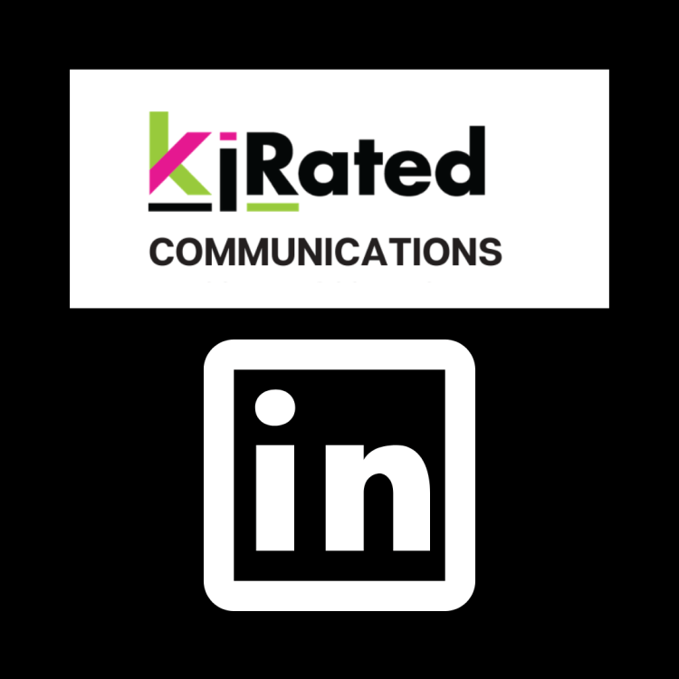 Stay up to date & follow Kirated Communications Social Media Feeds on linkedIN