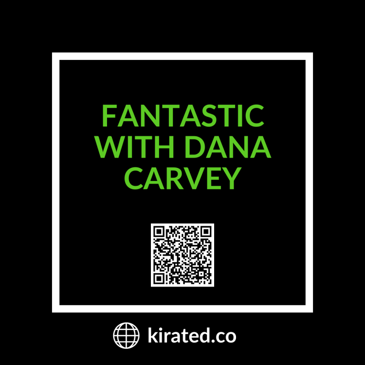 PODCAST: Fantastic with Dana Carvey with QR Code TOP PODCASTS