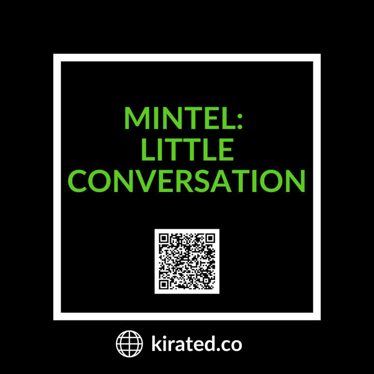 PODCAST: Mintel- Little Conversation with QR Code TOP PODCASTS