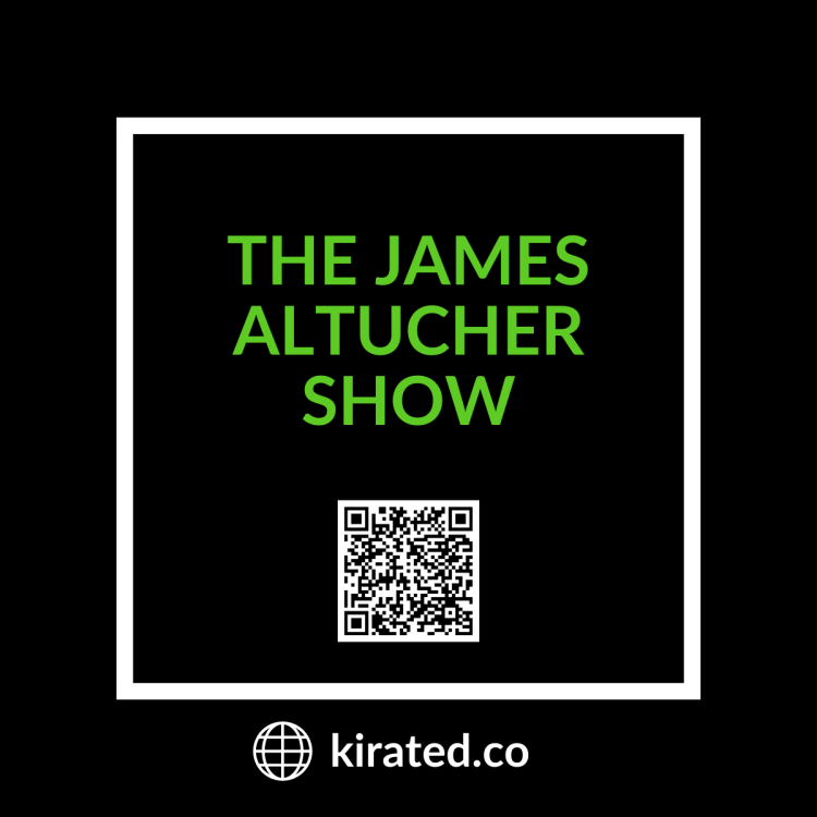 PODCAST: The James Altucher Show with QR CODE TOP PODCASTS