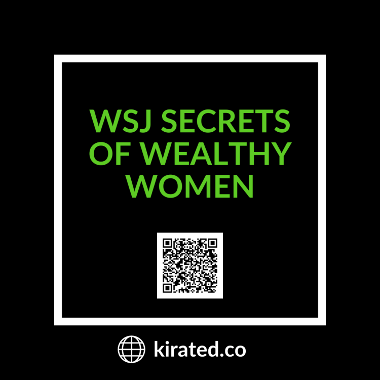 Podcast: WSJ Secrets of Wealthy Women with QR Code TOP PODCASTS