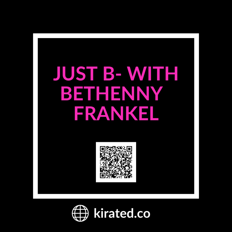 Podcast: Just B with Bethenny FRANKEL QR CODE TOP PODCASTS