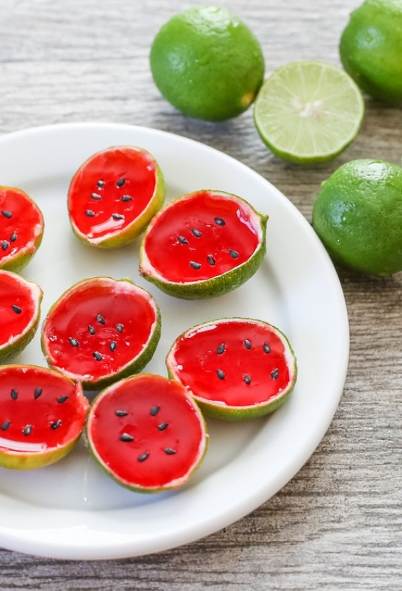 Watermelon Tequila Jello Shot recipe
