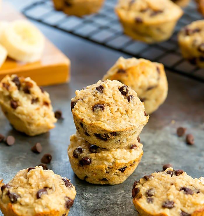 Low-Calorie Banana Muffins