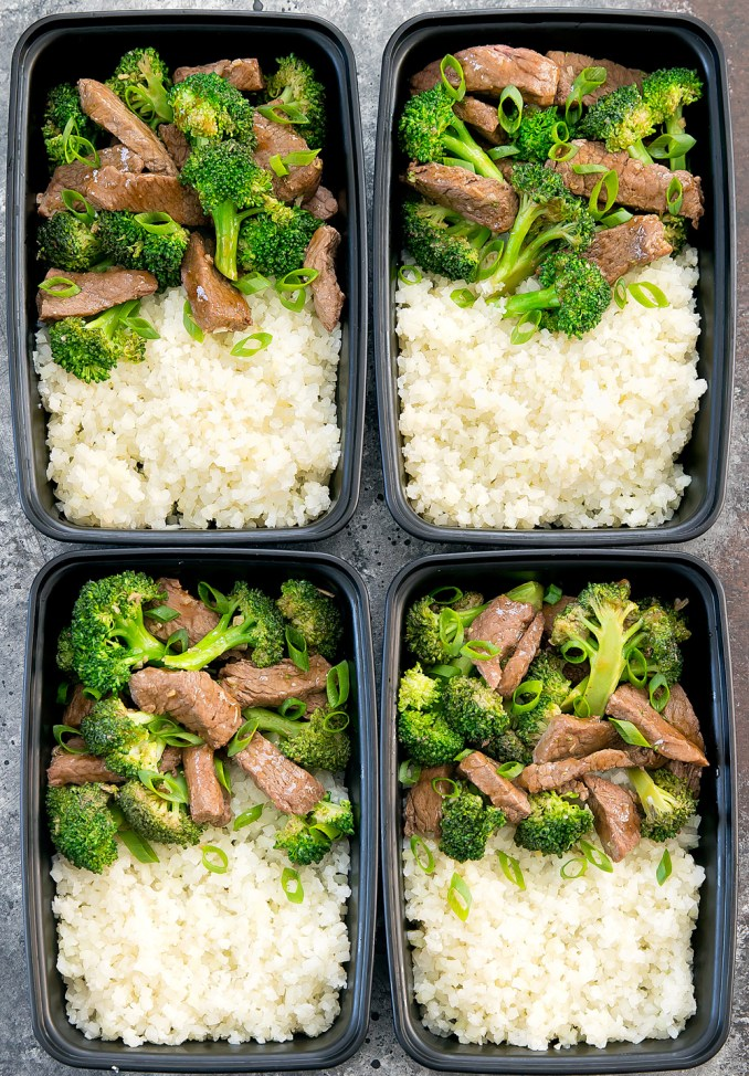 Keto Beef and Broccoli (Perfect for Meal Prep!) - Kirbie's