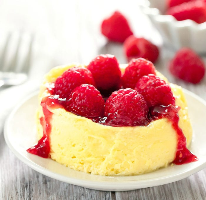 keto low carb microwave cheesecake