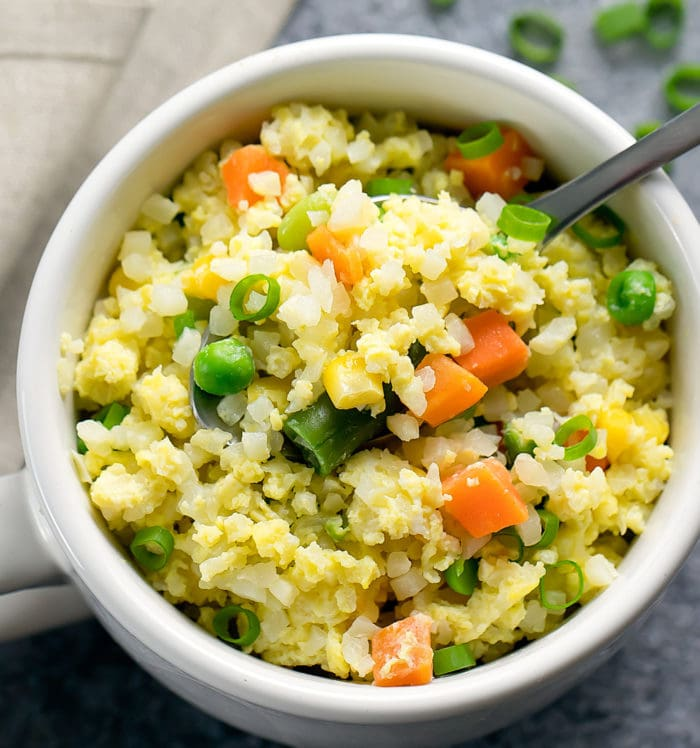 how to make cauliflower fried rice in