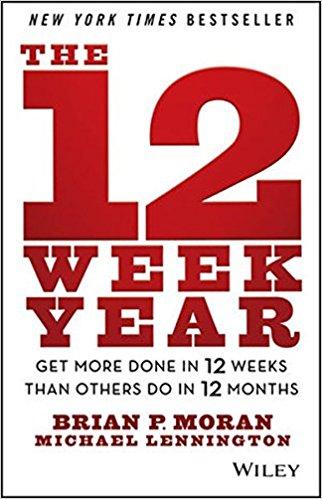 My 12 Week Year Goals