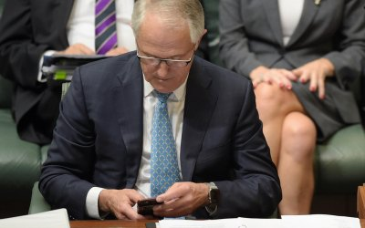 """Quote:  Malcolm Turnbull """"A denial of service attack is as predictable for a site like this as the rain will fall one day or the sun will come up in the morning"""""""