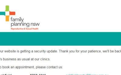 Incident: Cyber attack on Family Planning NSW client database | SMH