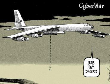 CyberWar B52 USB Bomb