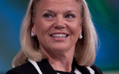 """Quote: Ginni Rometty """"Cyber crime is the greatest threat to every company in the world"""""""